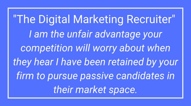 The Digital Marketing Recruiter